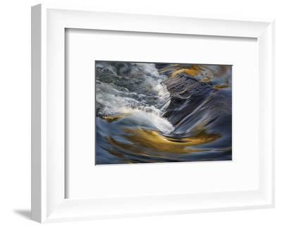 Deschutes Rapids in Bend-David Lorenz Winston-Framed Art Print