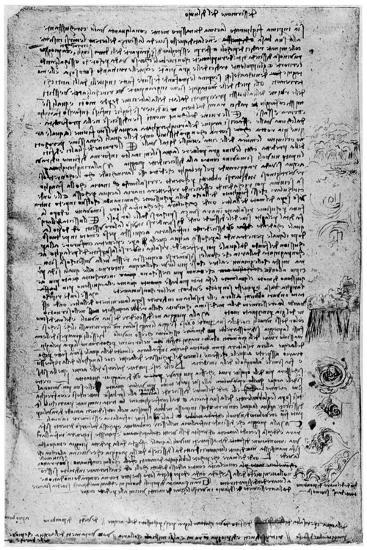 Description of the Great Flood, Late 15th Century or Early 16th Century-Leonardo da Vinci-Giclee Print