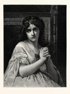 Desdemona. after Cabanal. Desdemona Is a Character in William Shakespeare's Play Othello (C.1601 16