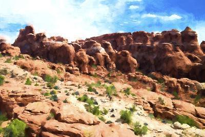 Desert Cliff-Philippe Hugonnard-Giclee Print