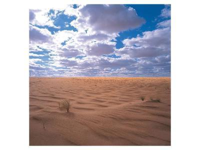 Desert Clouds--Art Print