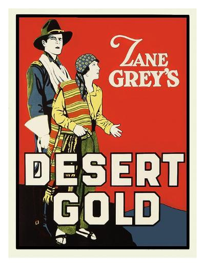 Desert Gold-Zane Grey-Art Print
