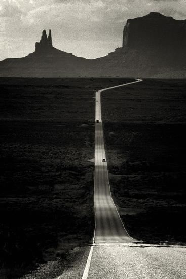 Desert Highway-Hakan Strand-Giclee Print