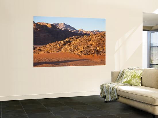 Desert Landscape at Sunrise-Richard l'Anson-Wall Mural