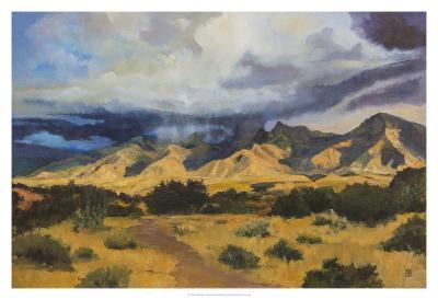 Desert Mountain Light-Judith D'Agostino-Giclee Print