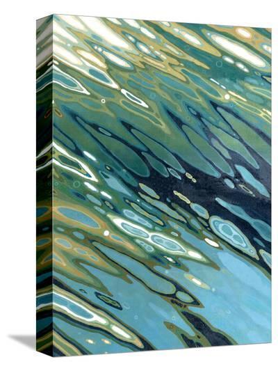 Desert Oasis-Margaret Juul-Stretched Canvas Print