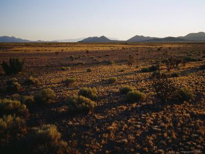 Desert Prairie outside of Santa Fe-Raul Touzon-Photographic Print
