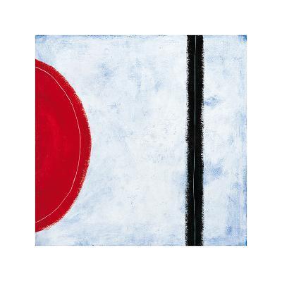 Desert Road II-Esther Wragg-Giclee Print