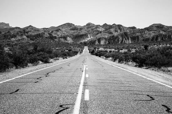 Desert Road in Arizona--Photo