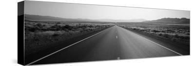 Desert Road, Nevada, USA