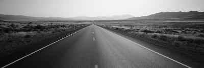 Desert Road, Nevada, USA--Photographic Print