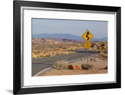 Desert Roads I-Lee Peterson-Framed Photographic Print