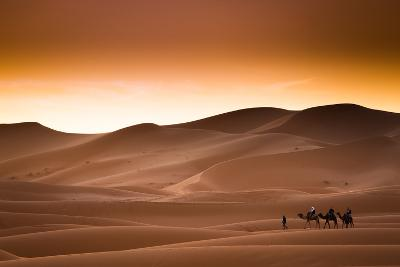 Desert Sahara Landscape-Andrzej Kubik-Photographic Print