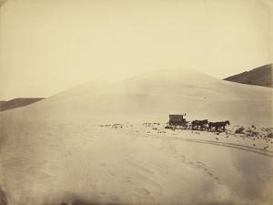 Desert Sand Hills near Sink of Carson, Nevada by Timothy H. O'sullivan