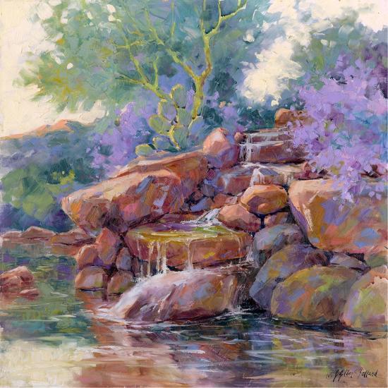 Desert Stream-Julie G^ Pollard-Art Print