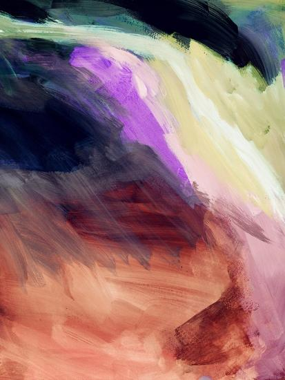 Desert Sunset II-Linda Woods-Art Print