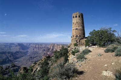 Desert View Watchtower, South Rim - Grand Canyon-Carol Highsmith-Photo