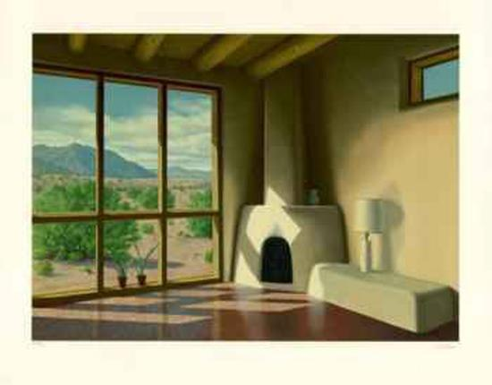 Desert View-L. Patrick-Collectable Print