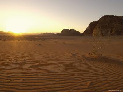 Desert, Wadi Rum, Jordan, Middle East-Sergio Pitamitz-Photographic Print