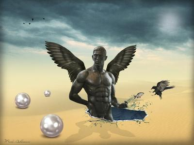 Desert-Mark Ashkenazi-Giclee Print