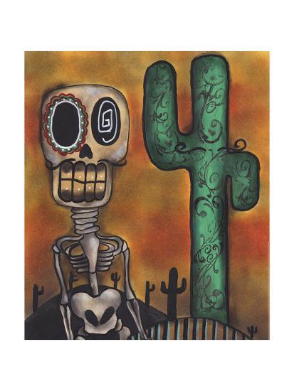 Desert-Abril Andrade-Giclee Print