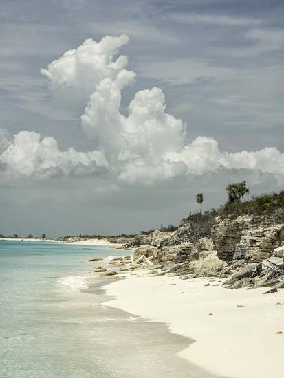 Deserted Island (Cay), Eastern Providenciales, Turks and Caicos Islands, West Indies, Caribbean-Kim Walker-Photographic Print