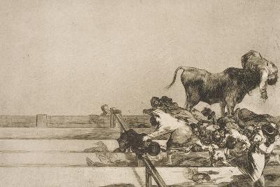 Desgracias Acaecidas En El Tendido De La Plaza De Madrid, Y Muerte Del Alcalde De Tor Rejon-Suzanne Valadon-Giclee Print