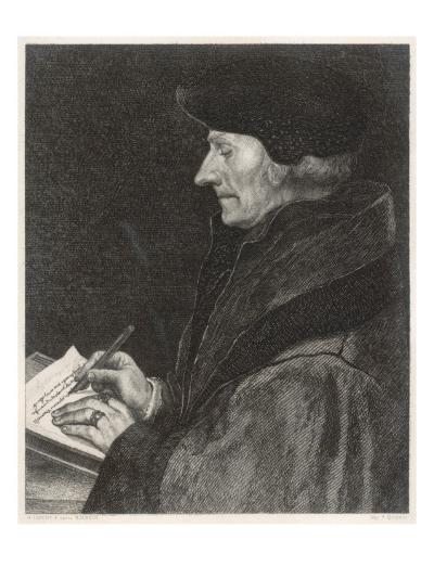 Desiderius Erasmus Dutch Humanist--Giclee Print