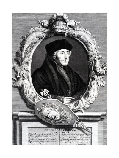 Desiderius Erasmus of Rotterdam--Giclee Print