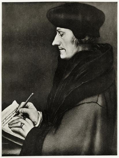 Desiderius Erasmus Von Rotterdam, 1884-90--Giclee Print