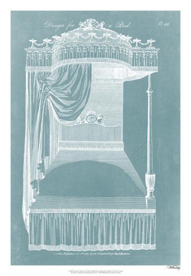 Design for a Bed I-Hepplewhite-Giclee Print