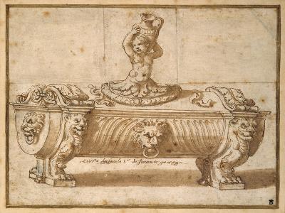 Design for a Sweetmeat Box-Giulio Romano-Giclee Print