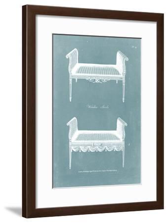 Design for a Window Seat I-Hepplewhite-Framed Art Print