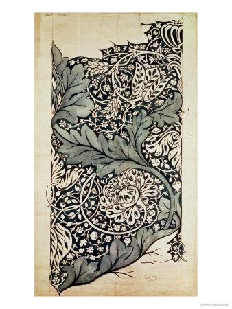 Design for Avon Chintz, circa 1886-William Morris-Giclee Print