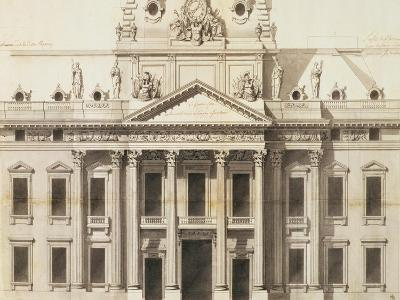 Design for the Ecole Militaire, Paris, 1751-Jacques-Ange Gabriel-Giclee Print