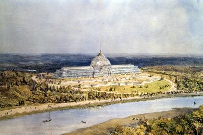 Design for the Industrial Exhibition, Vienna, 1873, C1830-1873-Owen Jones-Giclee Print