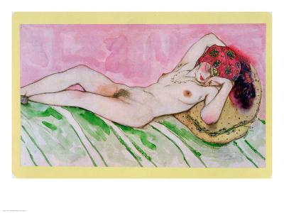 Design for the Red Sultan, circa 1920-Leon Bakst-Giclee Print