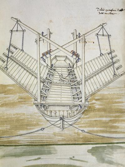 Design for Warship--Giclee Print