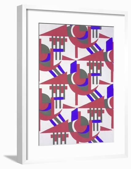 Design from 'Nouvelles Compositions Decoratives', Late 1920S (Pochoir Print)-Serge Gladky-Framed Giclee Print