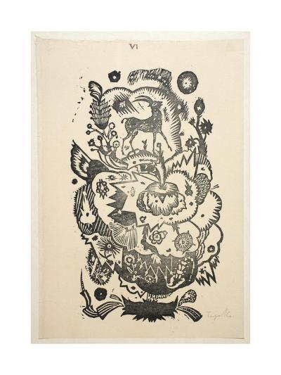 Design Motif for Wallpaper-Gustav Tejcka-Giclee Print
