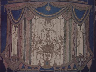 Design of Curtain for the Theatre Play the Masquerade by M. Lermontov, 1917-Alexander Yakovlevich Golovin-Giclee Print