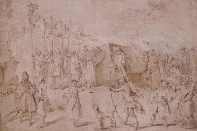 Design of the Funeral of Faction, 1741-Hubert Francois Gravelot-Giclee Print