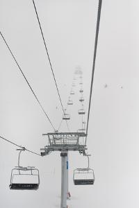 A Chairlift at a Ski Resort; Whistler British Columbia Canada by Design Pics Inc