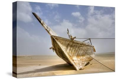 Abandoned Dhow on Beach; Ras Al Hadd, Oman