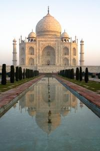 Agra, India; Exterior of the Taj Mahal by Design Pics Inc