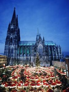 Cologne Cathedral and Christmas Market by Design Pics Inc