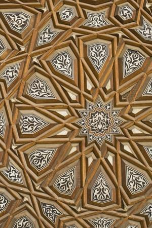 Detail of Decorated Door in Rifai Mosque by Design Pics Inc