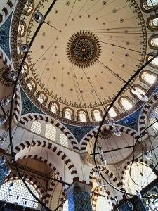 Domed Roof of Rustem Pasa Mosque by Design Pics Inc