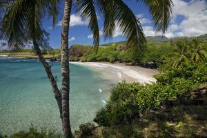 Hawaii, Maui, Hana, a Sunny View of Hamoa Beach with Clear Ocean on a Calm Day by Design Pics Inc