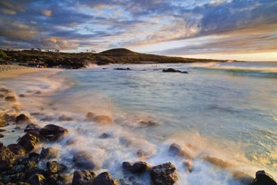 Kua Bay Beach Park at Sunset; Big Island, Hawaii, United States of America by Design Pics Inc